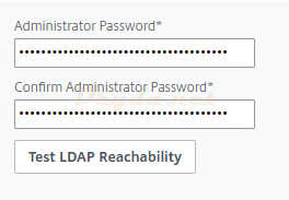 Test LDAP Reachability