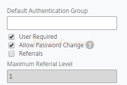 Allow Password Change
