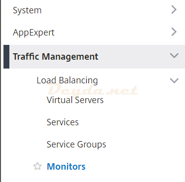 Traffic Management Monitors Load Balancing