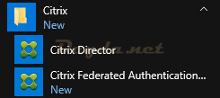 "Citrix Federated Authentication Service Tool with the ""run as administrator"" parameter"